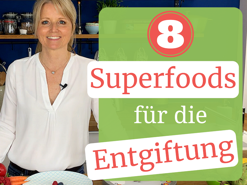 "Detox Days E-Book ""8 Superfoods zur Entgiftung"""