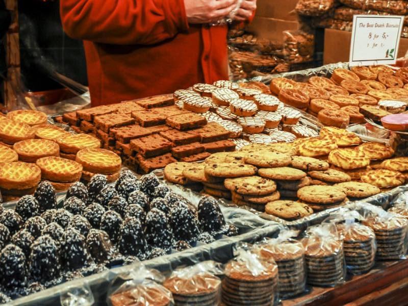 Gesund essen am Weihnachtsmarkt. Geht das?