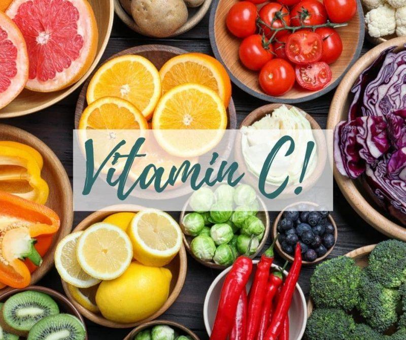 Lebensmittel mit viel Vitamin C