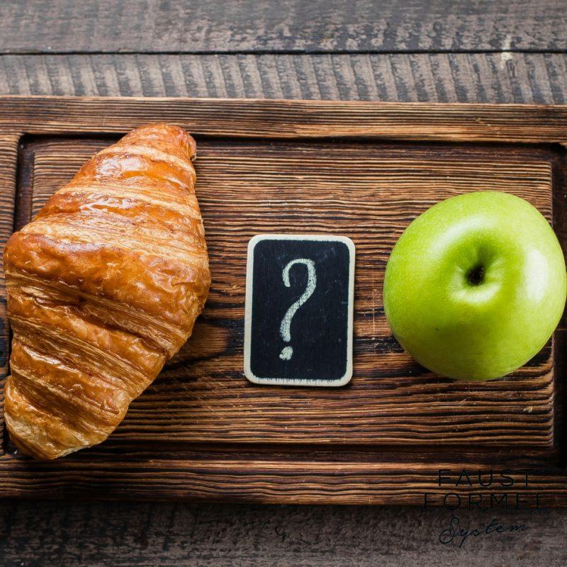Wie oft muss man eigentlich gesund essen