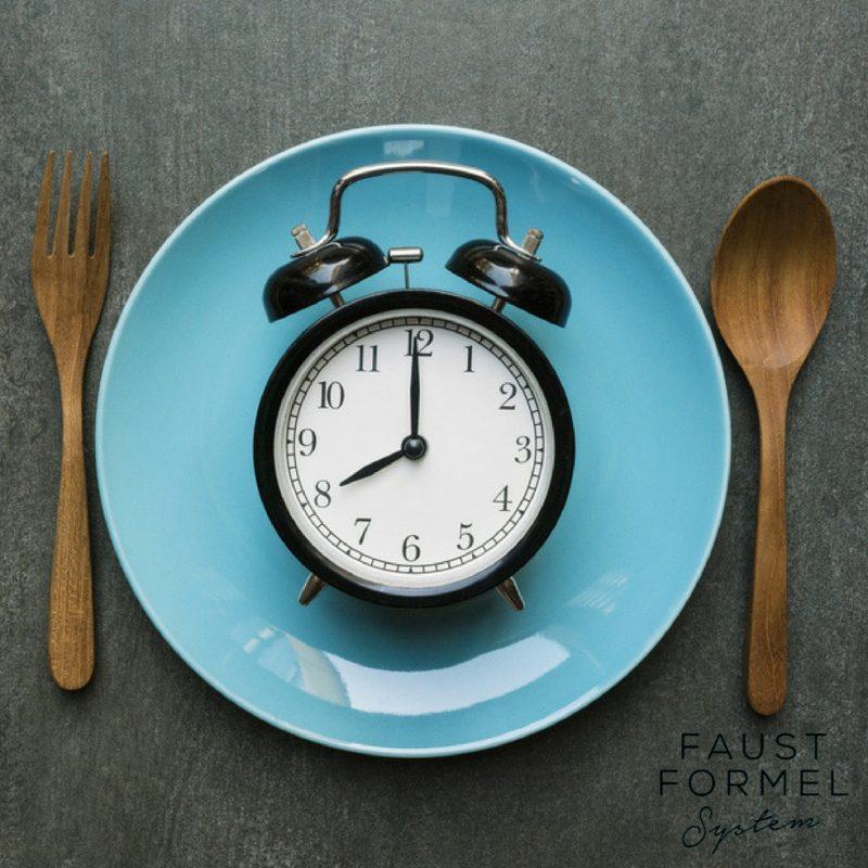 Was ist der richtige Abstand zwischen den Mahlzeiten?